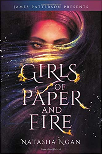 The cover of Girls of Paper and Fire, by Natasha Ngan.