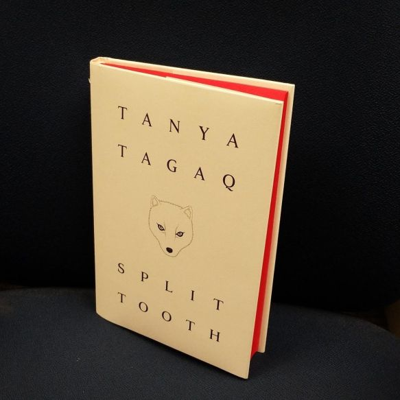 The cover of Tanya Tagaq's book Split Tooth.