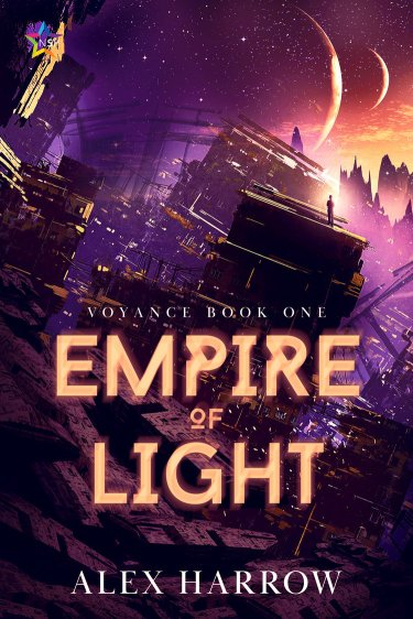 The cover of Empire of Light, by Alex Harrow.