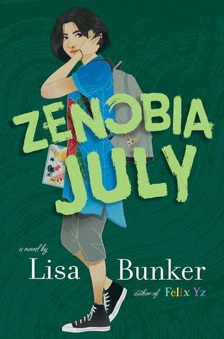 The cover of Zenobia July, by Lisa Bunker.