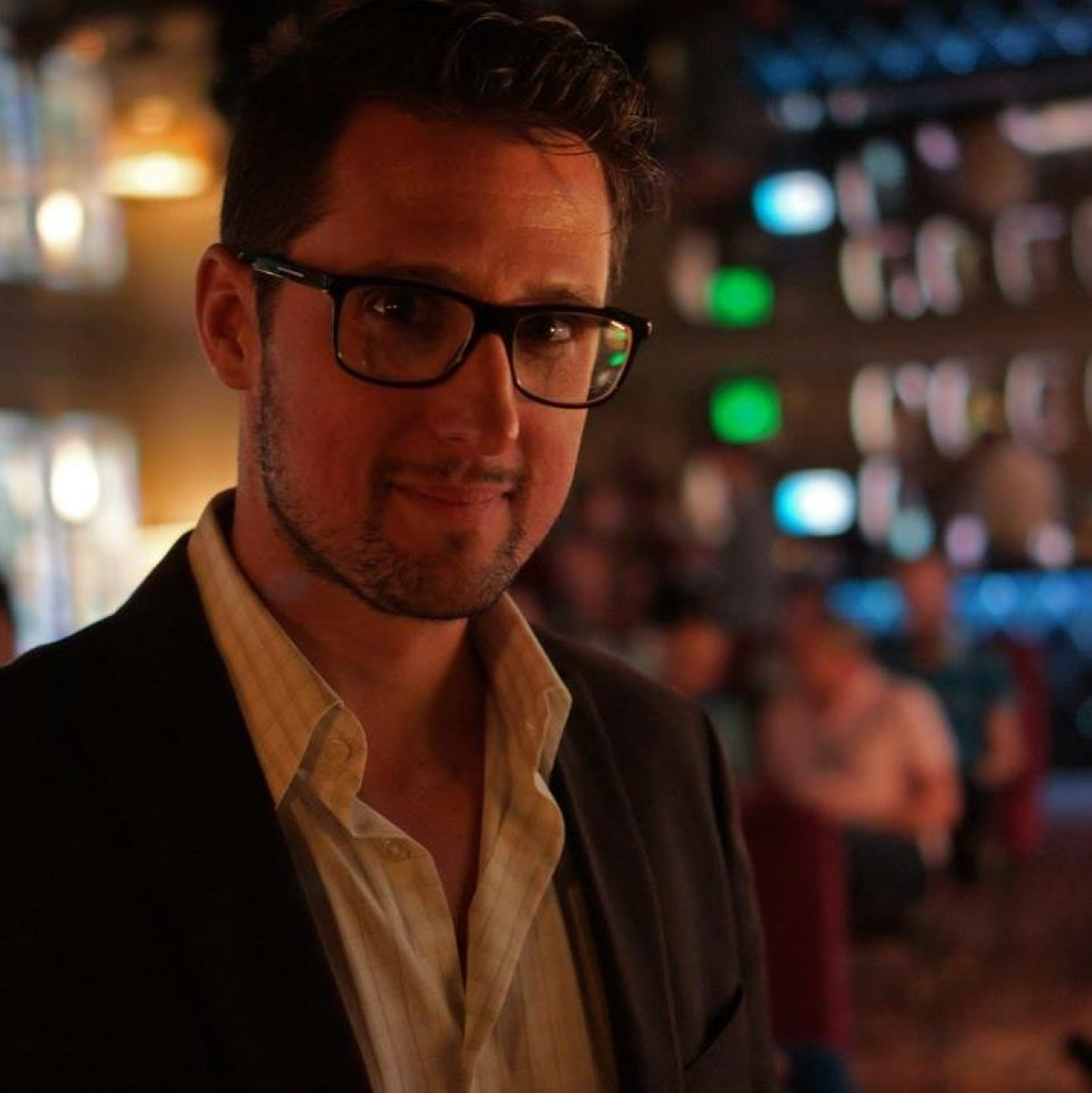 A photo of the author, Pablo Cartaya.