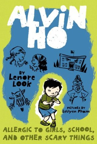 The cover of Alvin Ho, which shows a scared child on the front.
